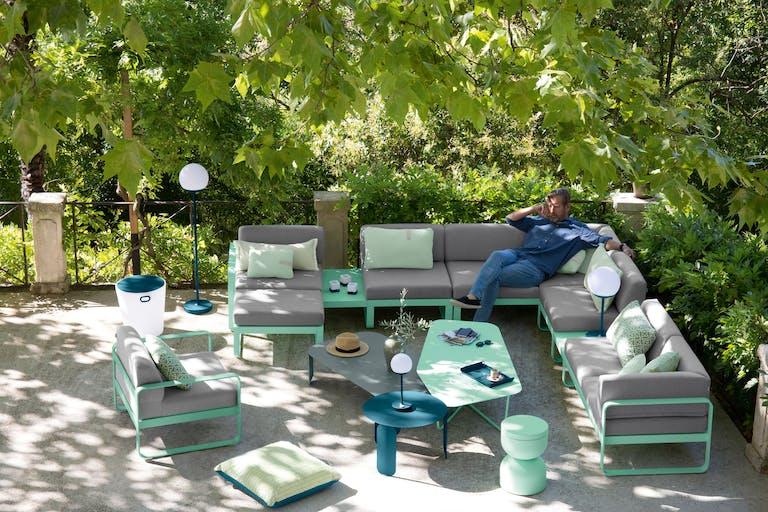 Fermob Bellevie modular outdoor sofa collection