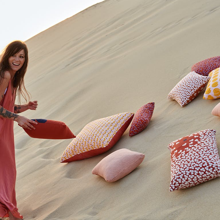 Fermob Outdoor Cushions on Sand