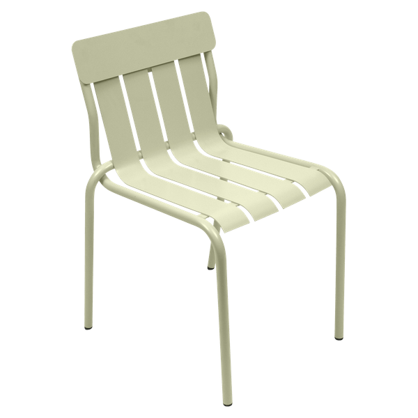 Fermob Stripe Chair in Willow Green