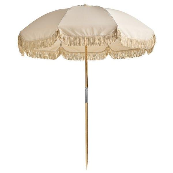 Basil Bangs Jardin 210cm Umbrella in BB Raw