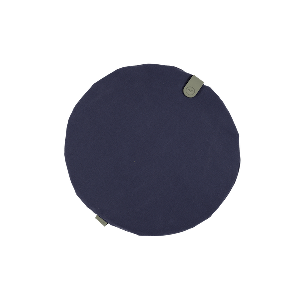 Fermob Colour Mix Round Cushion 40cm in Night Blue