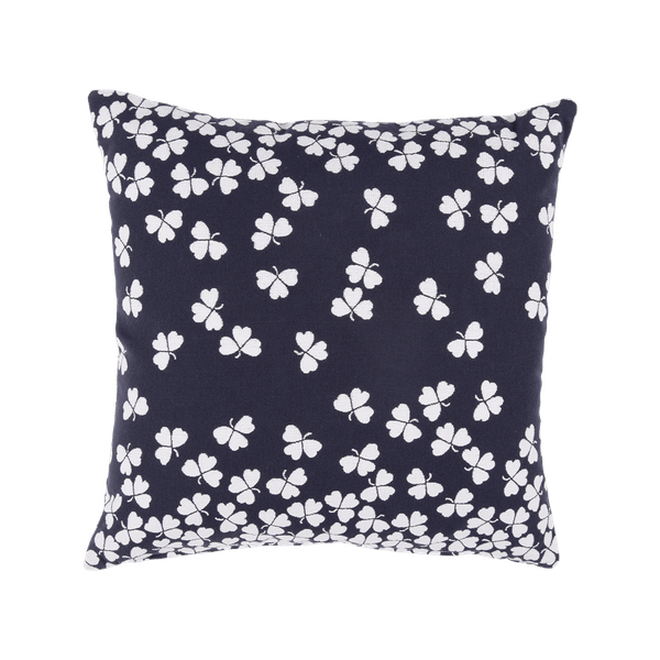 Fermob Trefle Cushion 44 x 44cm in Deep Blue