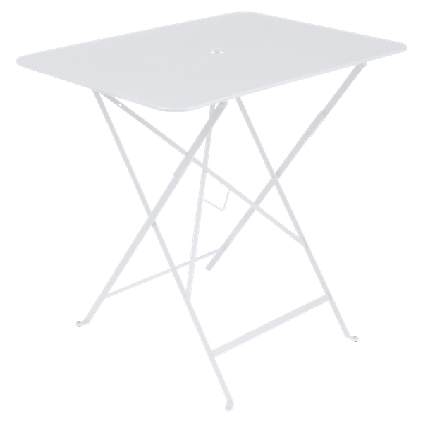 Fermob Bistro Table Rectangle 77 x 57cm in Cotton White
