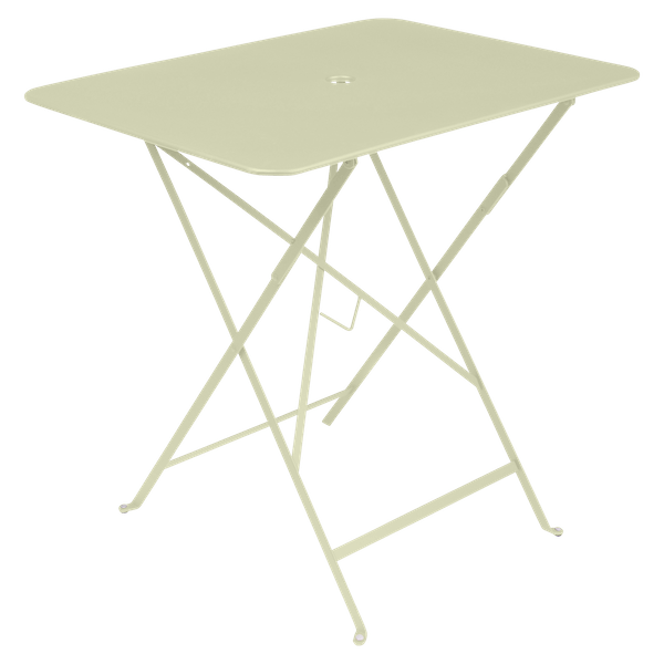Fermob Bistro Table Rectangle 77 x 57cm in Willow Green