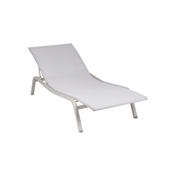 Fermob Alize Sunlounge in Clay Grey