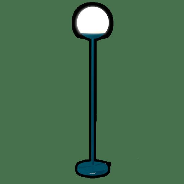 Fermob Mooon! Floor Lamp 134 cm in Acapulco Blue