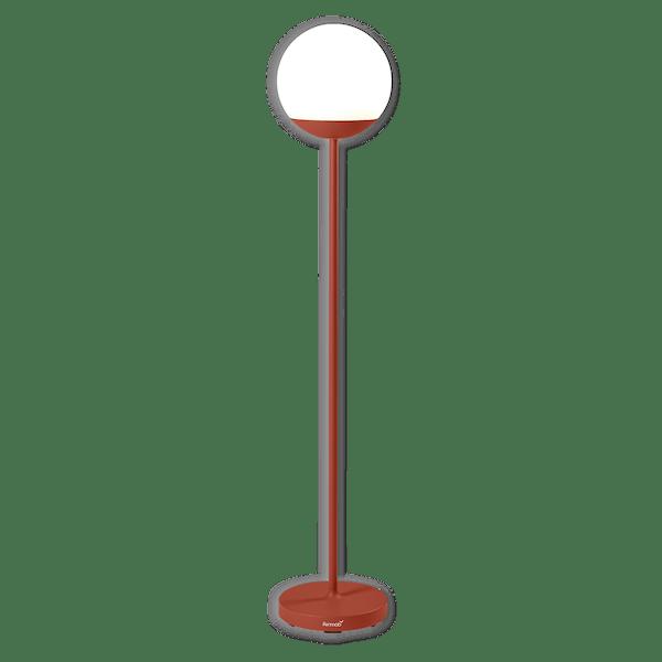 Fermob Mooon! Floor Lamp 134 cm in Red Ochre