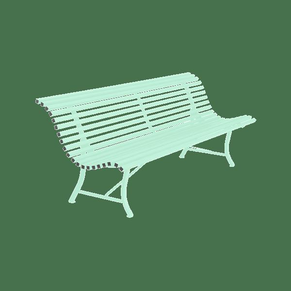 Fermob Louisiane Bench 200cm in Opaline Green