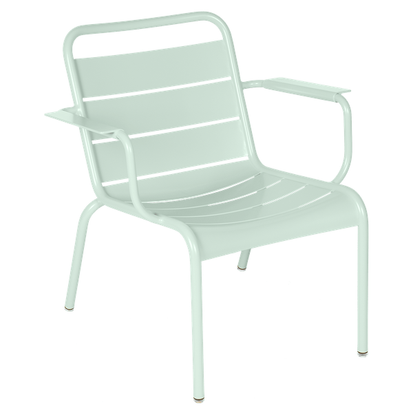 Luxembourg Lounge Armchair in Ice Mint