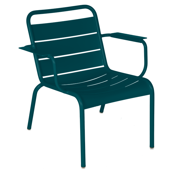 Luxembourg Lounge Armchair in Acapulco Blue