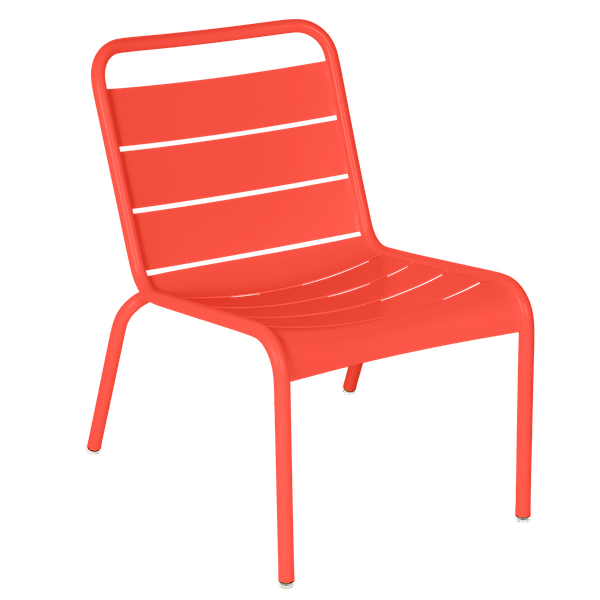 Luxembourg Lounge Chair in Capucine