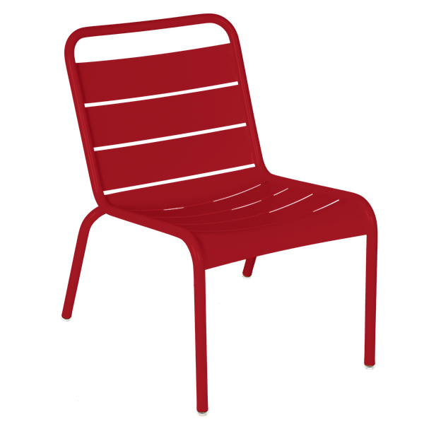 Luxembourg Lounge Chair in Chilli