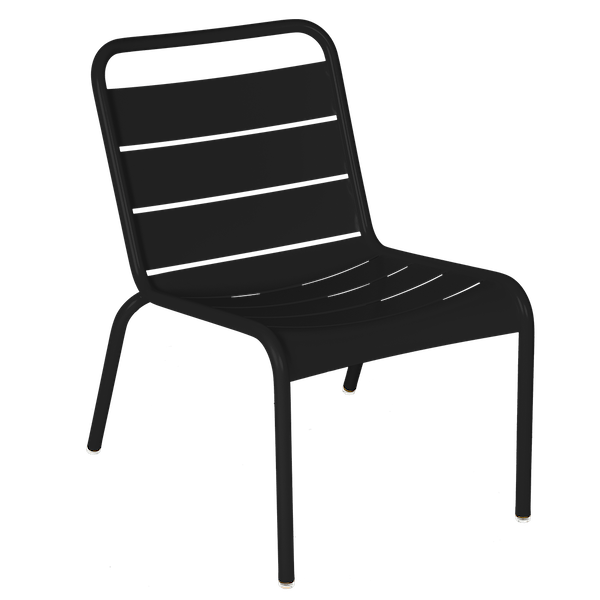 Luxembourg Lounge Chair in Liquorice
