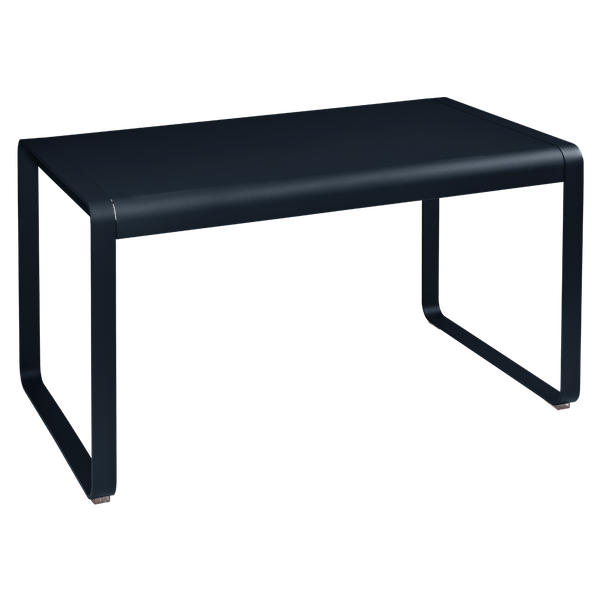 Fermob Bellevie Outdoor Dining Table 140 x 80cm in Deep Blue