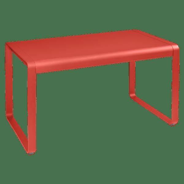 Fermob Bellevie Outdoor Dining Table 140 x 80cm in Capucine