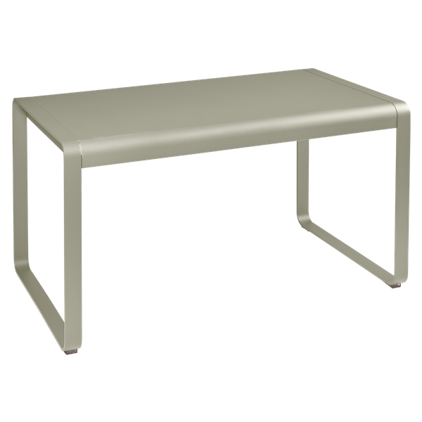 Fermob Bellevie Outdoor Dining Table 140 x 80cm in Nutmeg