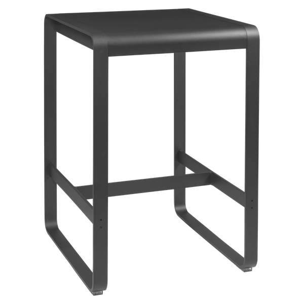 Fermob Bellevie High Bar Table 74 x 80cm in Anthracite