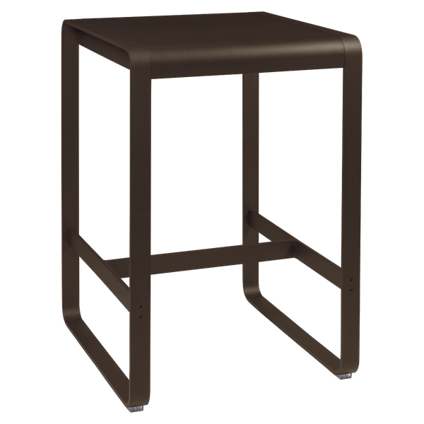 Fermob Bellevie High Bar Table 74 x 80cm in Russet