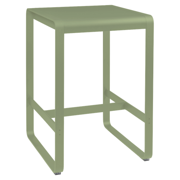 Fermob Bellevie High Bar Table 74 x 80cm in Willow Green