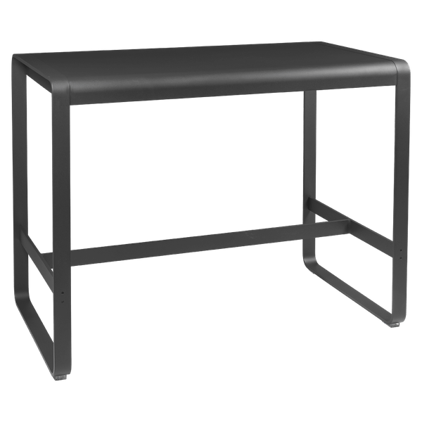 Fermob Bellevie High Bar Table 140 x 80cm in Anthracite