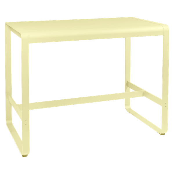 Fermob Bellevie High Bar Table 140 x 80cm in Frosted Lemon