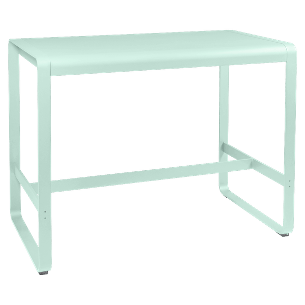 Fermob Bellevie High Bar Table 140 x 80cm in Ice Mint