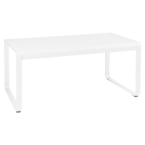 Fermob Bellevie Mid Height Table 140 x 80cm in Cotton White