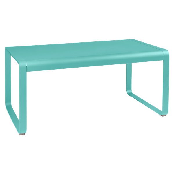 Fermob Bellevie Mid Height Table 140 x 80cm in Lagoon Blue