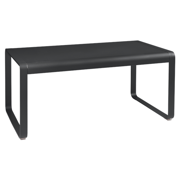 Fermob Bellevie Mid Height Table 140 x 80cm in Anthracite