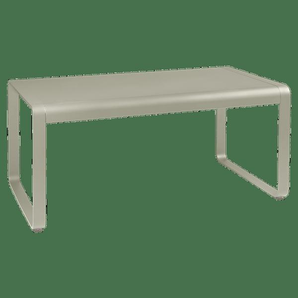 Fermob Bellevie Mid Height Table 140 x 80cm in Nutmeg