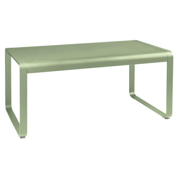 Fermob Bellevie Mid Height Table 140 x 80cm in Willow Green