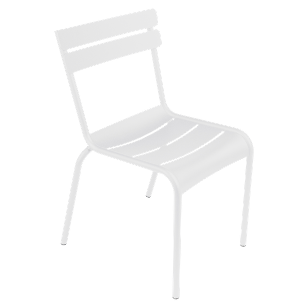 Fermob Luxembourg Chair in Cotton White