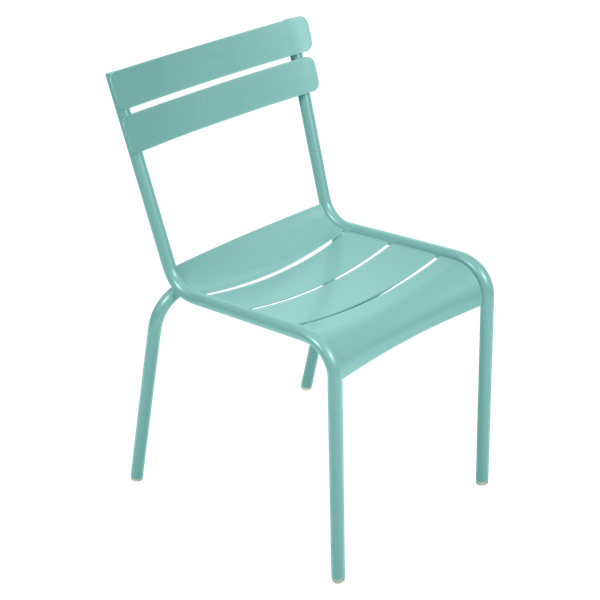 Fermob Luxembourg Chair in Lagoon Blue