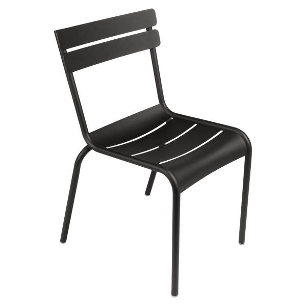 Fermob Luxembourg Chair in Liquorice
