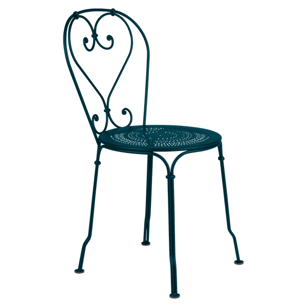 Fermob 1900 Chair in Acapulco Blue