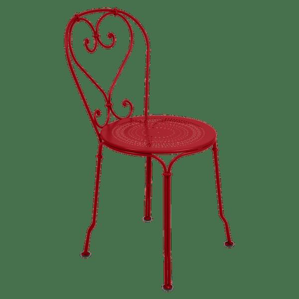 Fermob 1900 Chair in Poppy