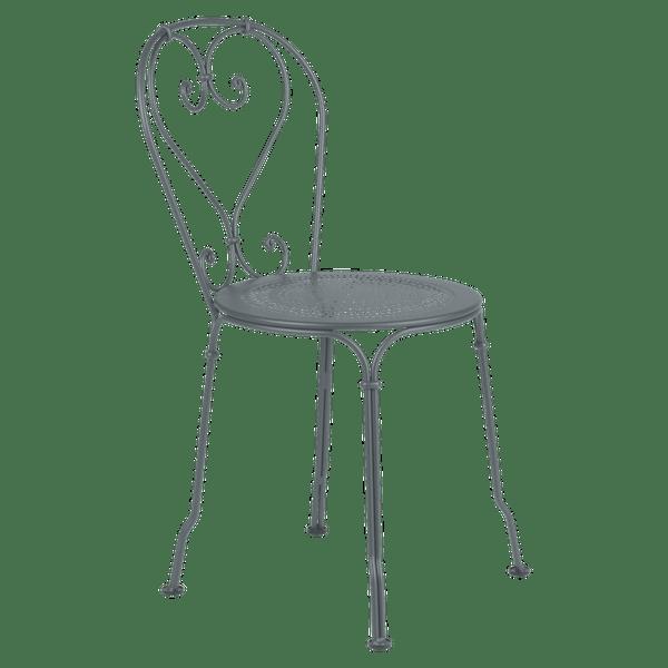 Fermob 1900 Chair in Storm Grey
