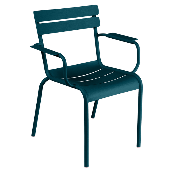 Fermob Luxembourg Armchair in Acapulco Blue