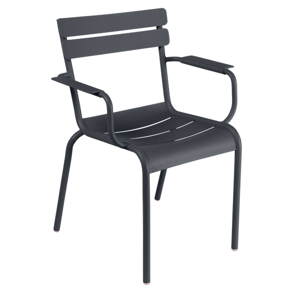 Fermob Luxembourg Armchair in Anthracite