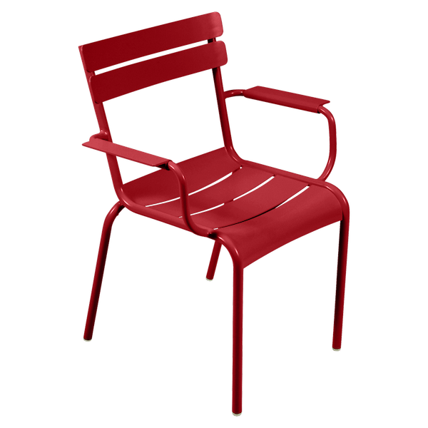 Fermob Luxembourg Armchair in Poppy