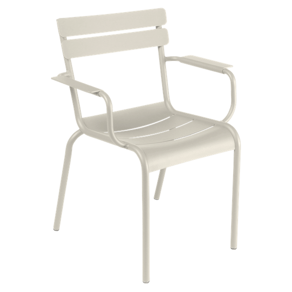 Fermob Luxembourg Armchair in Clay Grey