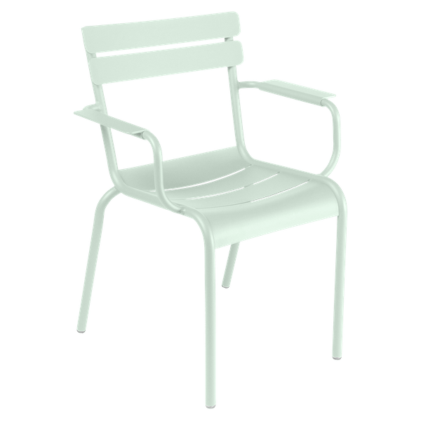 Fermob Luxembourg Armchair in Ice Mint
