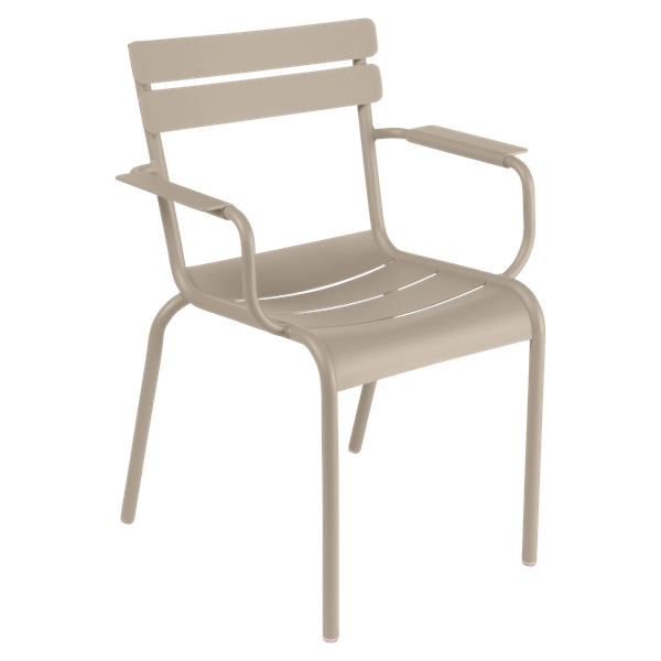 Fermob Luxembourg Armchair in Nutmeg