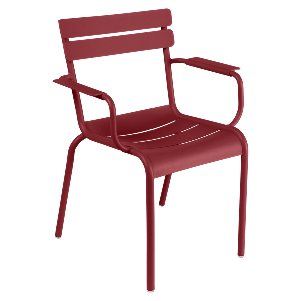 Fermob Luxembourg Armchair in Chilli