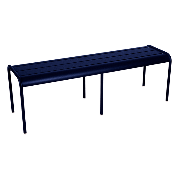 Fermob Luxembourg Bench in Deep Blue