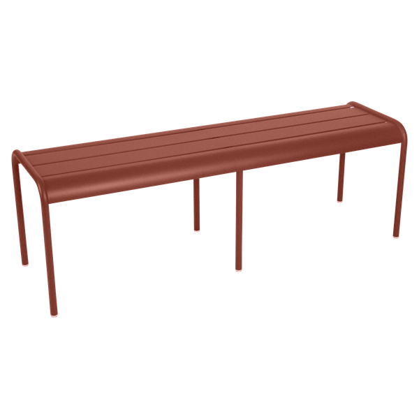 Fermob Luxembourg Bench in Red Ochre