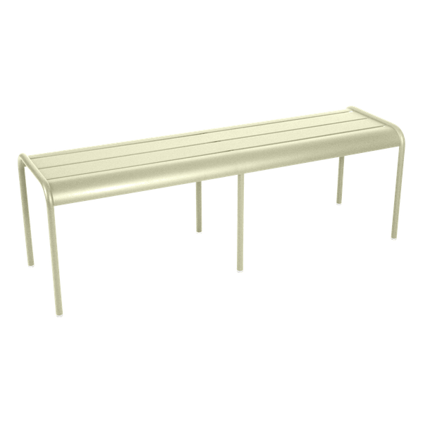 Fermob Luxembourg Bench in Willow Green