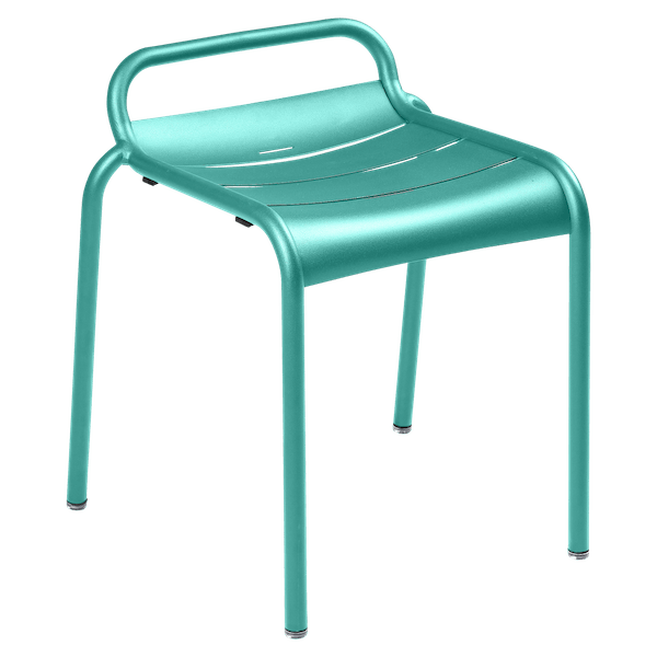 Luxembourg Stool in Lagoon Blue