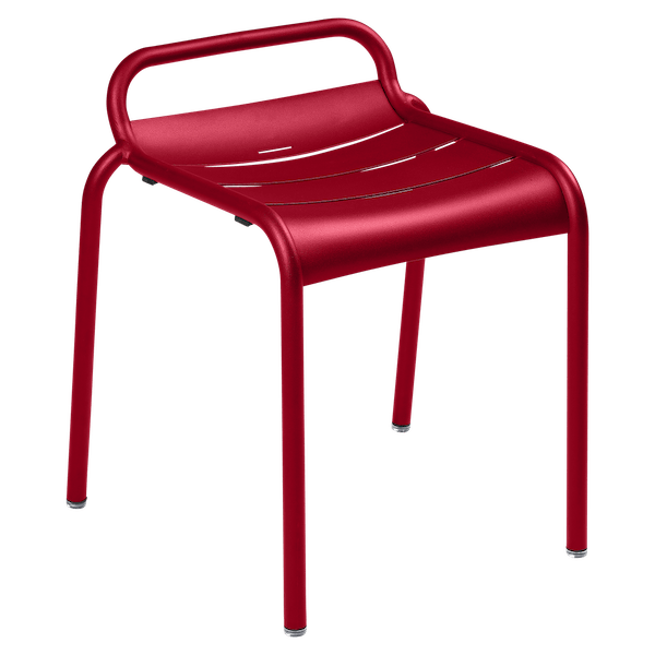Luxembourg Stool in Chilli