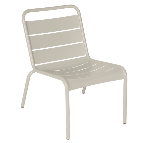 Luxembourg Lounge Chair in Clay Grey